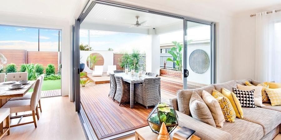 Indoor/Outdoor Patio Living Space