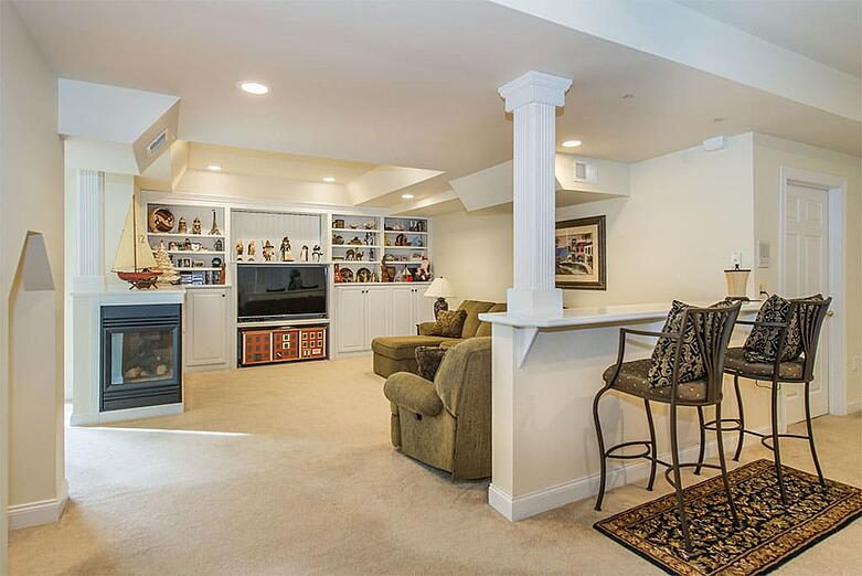 Den Built Ins Basement Remodel | Maximize Functionality in Your New Jersey Home with Custom Built Ins | JMC Home Improvement Specialists