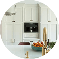 Floor-to-ceiling kitchen cabinets in New Jersey