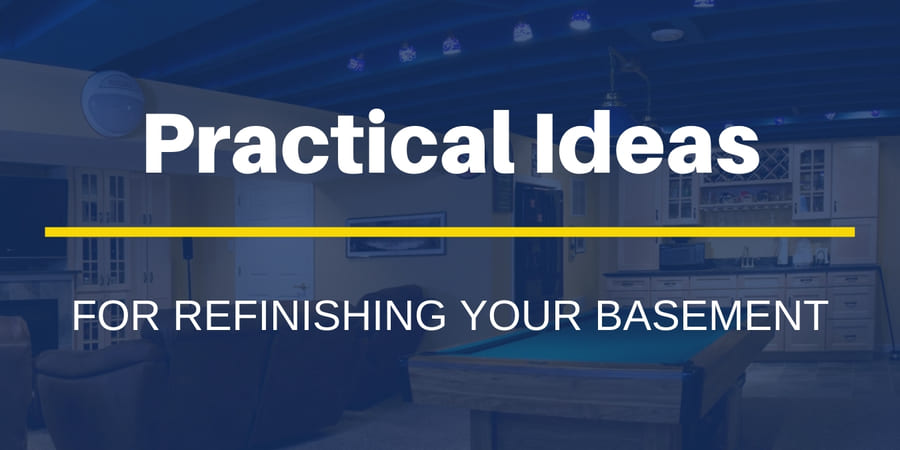 Practical Ideas for Refinishing Your Basement in New Jersey