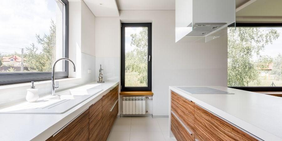 modern white laminate kitchen countertops morris county nj remodel