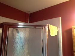 Before photo of shower stall