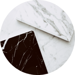 Marble tiles for kitchen remodel in New Jersey