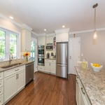 Before & After White Kitchen Remodel in Randolph