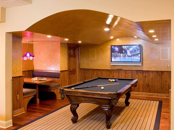 Pub Style Basement Remodel in New Jersey