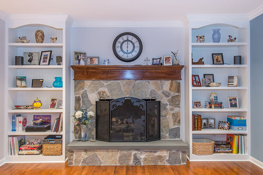 New Jersey Fireplace Remodel