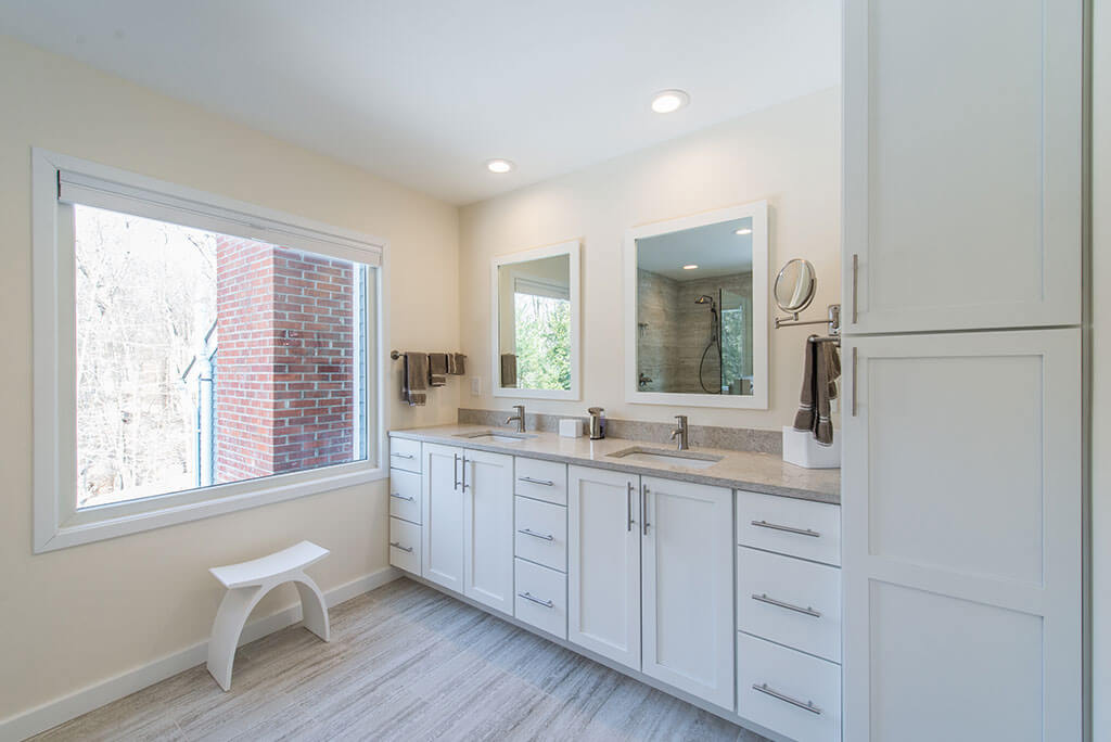 Multiple Bathroom Remodel in Chester