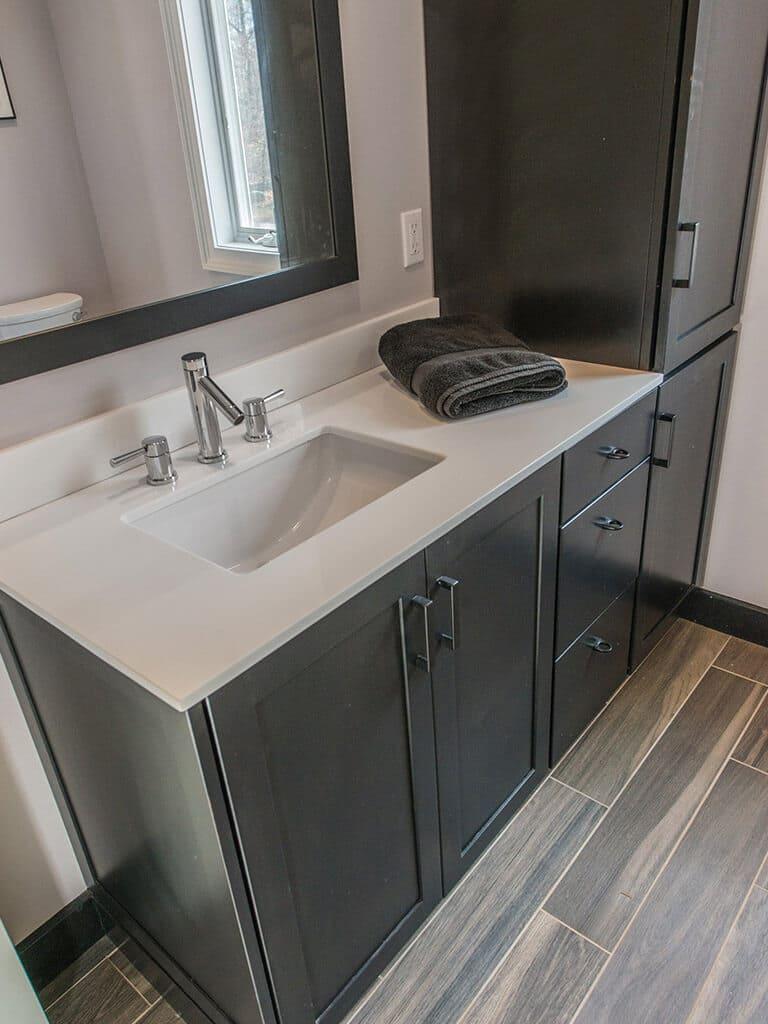 New Jersey Industrial Bathroom Remodel