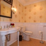 New Jersey Wall-Paneled Powder Room