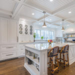 Cape Cod Farmhouse Eclectic Kitchen Design