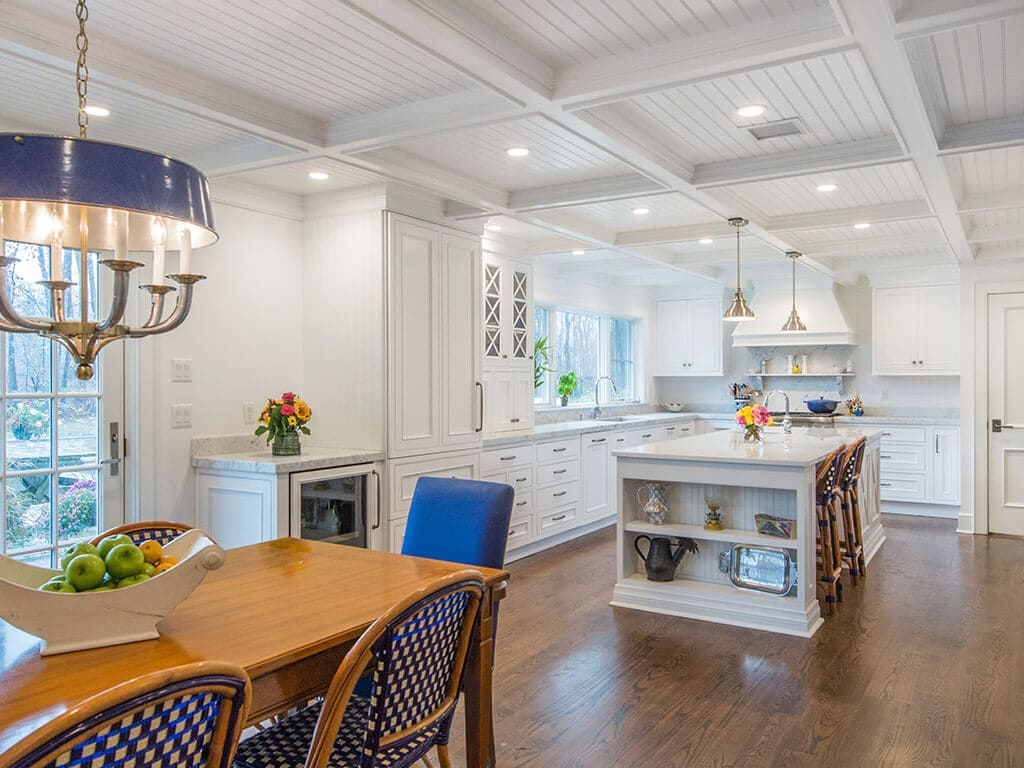 Cape Cod Farmhouse Eclectic Kitchen Design