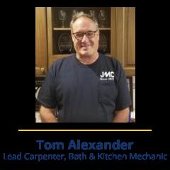 Tom Alexander | Meet Our Team - JMC Home Improvement Specialists